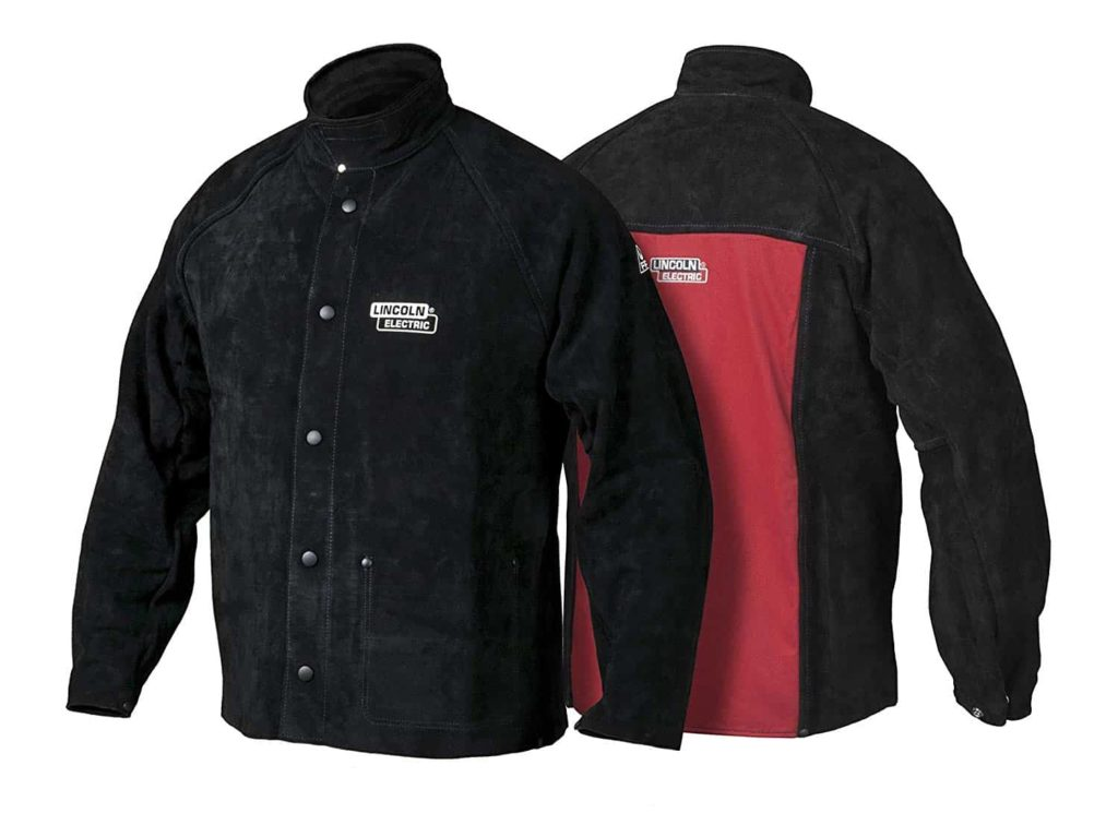 Lincoln Electric Heavy Duty Leather Welding Jacket