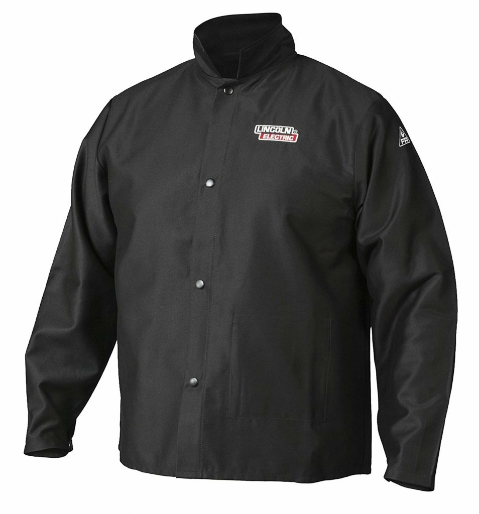 Lincoln Electric Premium Flame Resistant (FR) Cotton Welding Jacket