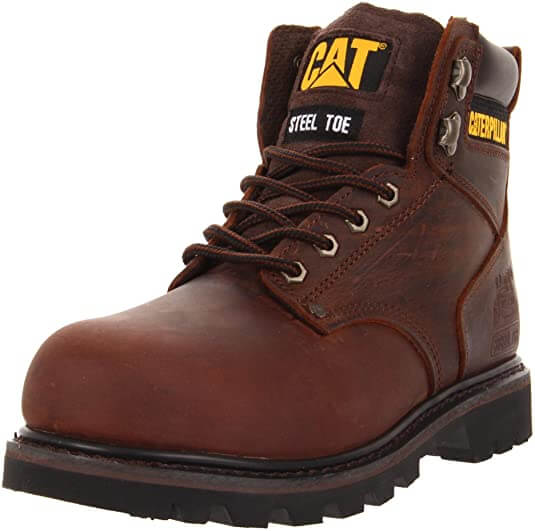 Caterpillar Second Shift Steel Toe Working Boots