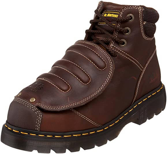 Dr. Martens Men's Iron Bridge MG ST Steel Toe Met Guard Boots