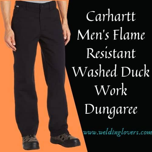 Flame Resistant Washed Duck Work Dungaree