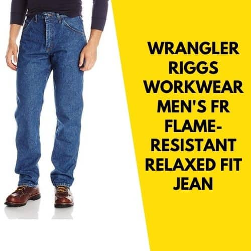 Wrangler Riggs flame resistant fit jean